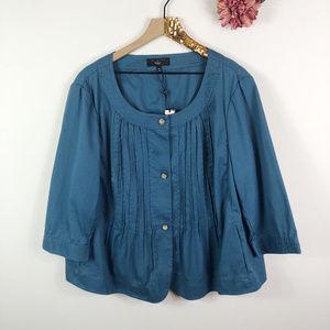 [TALBOTS] Jackie Fit Cropped Sleeve Blazer Jacket
